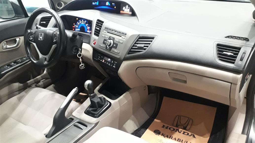 İkinci El Honda Civic 1.6ES ELEGANCE LPG PREP 2012 - Satılık Araba Fiyat - Otoshops